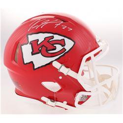 Kareem Hunt Signed Chiefs Full-Size Authentic On-Field Speed Helmet (JSA COA)