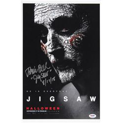 "Tobin Bell Signed ""Saw"" 11x17 Photo Inscribed ""JigSaw""  ""8/17/18"" (PSA Hologram)"