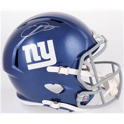 Odell Beckham Jr. Signed Giants Full-Size Speed Helmet (JSA COA)