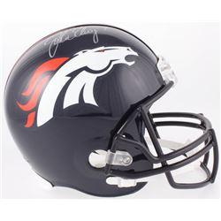 John Elway Signed Broncos Full-Size Helmet (Beckett Hologram)