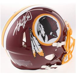Adrian Peterson Signed Redskins Full-Size Authentic On-Field Speed Helmet (Beckett COA)