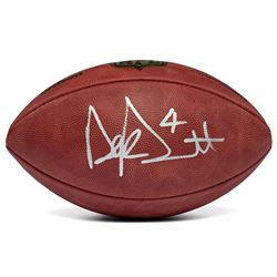 "Dak Prescott Signed ""The Duke"" Official NFL Game Ball (Panini COA)"