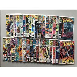 Lot of (70) 1981-1996 Marvel Uncanny X-Men 1st Series Comic Books