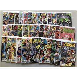 Lot of (61) 1997-2004 3rd Series Marvel Avengers Comic Books
