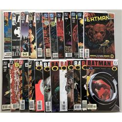 Lot of (50) 1991-2006 DC Batman Comic Books