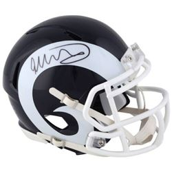 Todd Gurley Signed Rams Mini Speed Helmet (Fanatics Hologram)