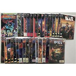 "Lot of (64) 1992-1999 DC ""Batman Shadow of the Bat"" Comic Books"