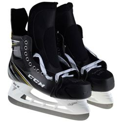 """Pair of (2) Alex Ovechkin Signed CCM Game Model Skates Inscribed """"2018 SC CHAMPS/RMNB"""" (Fanatics Hol"""