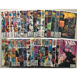 Lot of (34) 1995-2001 Marvel X-Men Comic Books