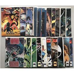 Lot of (41) 1989-1999 DC Batman Legend of the Dark Knight Comic Books