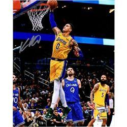 "Kyle Kuzma Signed Lakers ""Dunk Vs. Magic"" 8x10 Photo (Fanatics Hologram)"
