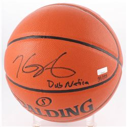 "Kevin Durant Signed LE NBA Game Ball Series Basketball Inscribed ""Dub Nation"" (Panini COA)"