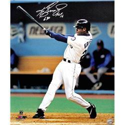 "Ken Griffey Jr. Signed Seattle Mariners ""Swinging"" 16x20 Photo Inscribed ""HOF 16"" (TriStar Hologram)"