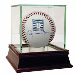 Mariano Rivera Signed Hall of Fame Logo Baseball (Steiner COA)