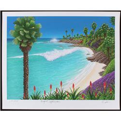 "Dan Mackin - ""August Afternoon"" Signed Limited Edition 20x24 Fine Art Giclee #/275 (Mackin COA  PA L"