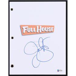 "John Stamos Signed ""Full House: Our Very First Show"" Full Episode Script (Beckett COA)"