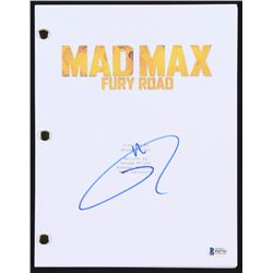 "Tom Hardy Signed ""Mad Max: Fury Road"" Movie Script (Beckett COA)"
