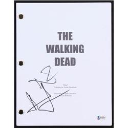 "Norman Reedus  Andrew Lincoln Signed ""The Walking Dead: Pilot"" Full Episode Script (Beckett COA)"
