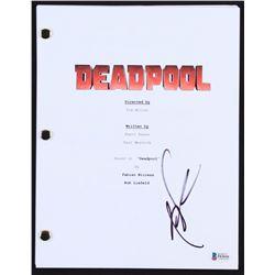 "Rob Liefeld Signed ""Deadpool"" Movie Script (Beckett COA)"