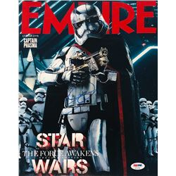 "Gwendoline Christie Signed ""Star Wars: The Force Awakens"" 11x14 Empire Magazine Photo (PSA COA)"