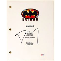 "Danny Elfman Signed ""Batman"" Full Movie Script (PSA COA)"