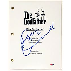 "Robert Duvall Signed ""The Godfather"" Full Movie Script (PSA COA)"