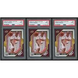 Lot of (3) PSA Graded 9 2009-10 Upper Deck Draft Edition #40 James Harden