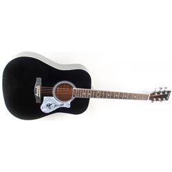 "Mike Love  Al Jardine Signed 41"" Acoustic Guitar (PSA COA)"