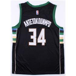 Giannis Antetokounmpo Signed Milwaukee Bucks Nike Jersey (JSA COA)