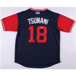 "Carlos Martinez Signed ""Tsunami"" St. Louis Cardinals Jersey Inscribed ""Tsunami"" (PSA COA)"