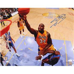 Shaquille O'Neal Signed Los Angeles Lakers 16x20 Photo (JSA COA)