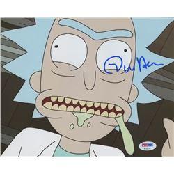 "Dan Harmon Signed ""Rick and Morty"" 8x10 Photo (PSA COA)"