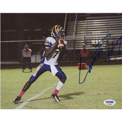 Lamar Jackson Signed Boynton Beach Tigers 8x10 Photo (PSA COA)