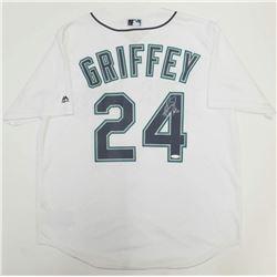 """Ken Griffey Jr. Signed Seattle Mariners Jersey Inscribed """"HOF 16"""" (TriStar Hologram)"""