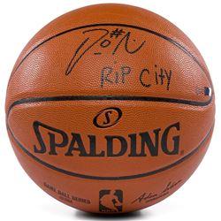 "Damian Lillard Signed Limited Edition NBA Game Ball Series Basketball Inscribed ""Rip City"" (Panini C"