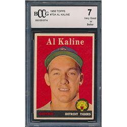 1958 Topps #70A Al Kaline (BCCG 7)