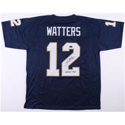 "Ricky Watters Signed Jersey Inscribed ""1988 Nat. Champs""  (Radtke COA)"