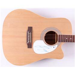"""Luke Bryan Signed 41"""" Acoustic Guitar (Beckett Hologram)"""