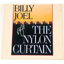 "Billy Joel Signed ""The Nylon Curtain"" Vinyl Album Cover (PSA COA)"