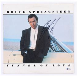 "Bruce Springsteen Signed ""Tunnel of Love"" Vinyl Record Album Cover (Beckett LOA)"