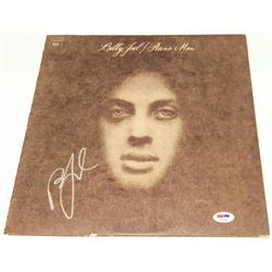 "Billy Joel Signed ""Piano Man"" Vinyl Album Cover (PSA COA)"