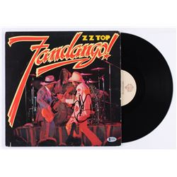 "Billy Gibbons Signed ZZ Top ""Fandango"" Vinyl Record Album (Beckett COA)"