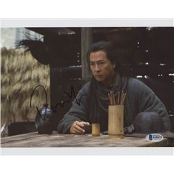 "Donnie Yen Signed ""Crouching Tiger, Hidden Dragon: Sword of Destiny"" 8x10 Photo (Beckett COA)"