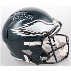 "Brian Dawkins Signed Philadelphia Eagles Full-Size Speed Helmet Inscribed ""Weapon X!!"" (JSA COA)"