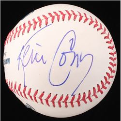 Kevin Conroy Signed OML Baseball (Beckett COA)