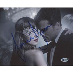 """Jamie Dornan Signed """"Fifty Shades of Grey"""" 8x10 Photo (Beckett COA)"""