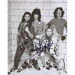 "David Lee Roth Signed ""Van Halen"" 8x10 Photo (Beckett COA)"