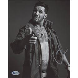 Tom Hardy Signed 8x10 Photo (Beckett COA)