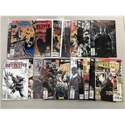 Lot of (19) 1990-2011 Detective Comics Batman Comic Books