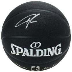 Giannis Antetokounmpo Signed Official NBA Arena Series Black Basketball (Fanatics Hologram)